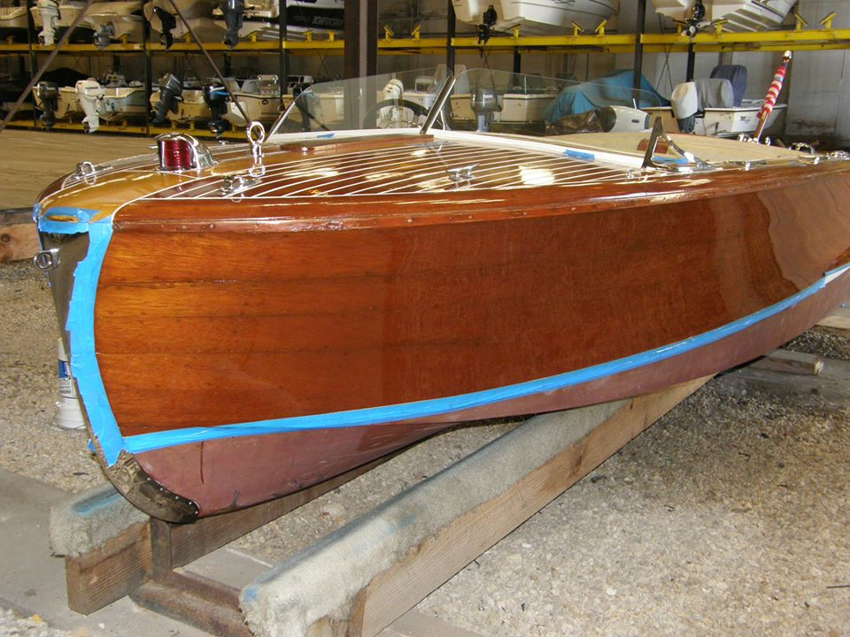 chris craft restoration wooden boat restoration experts